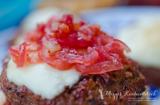 Chutneys & Relishes · rote Honig-Zwiebeln