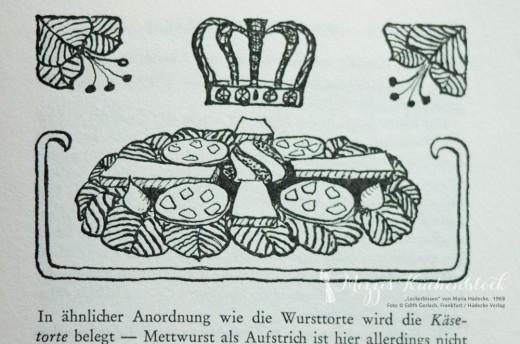 Wurst- und Käsetorte