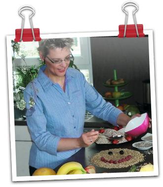 Susanne Bihlmaier in ihrer Küche