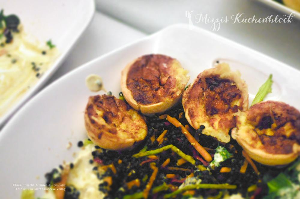 Chaes-Chuechli & Linsen-Kürbis-Salat