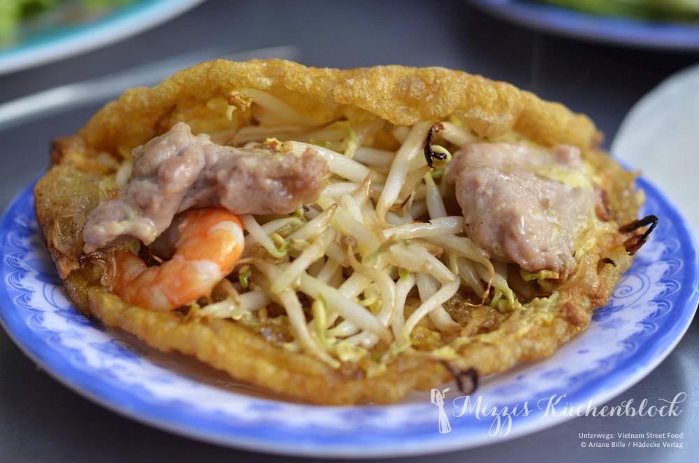 Unterwegs in Vietnam –Garnelenpfannkuchen