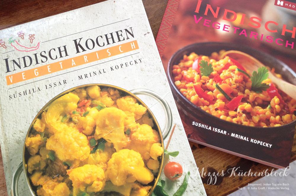 Indisch vegetarisch · alte und neue Ausgabe