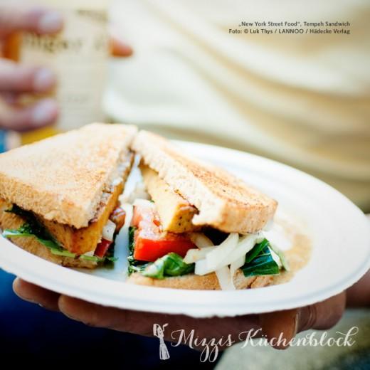 Tempeh Sandwich · Rezeptwoche