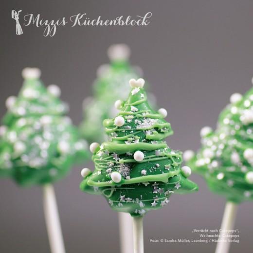Weihnachts-Cakepops · Rezept der Woche