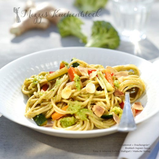 Brokkoli-Ingwer-Sauce