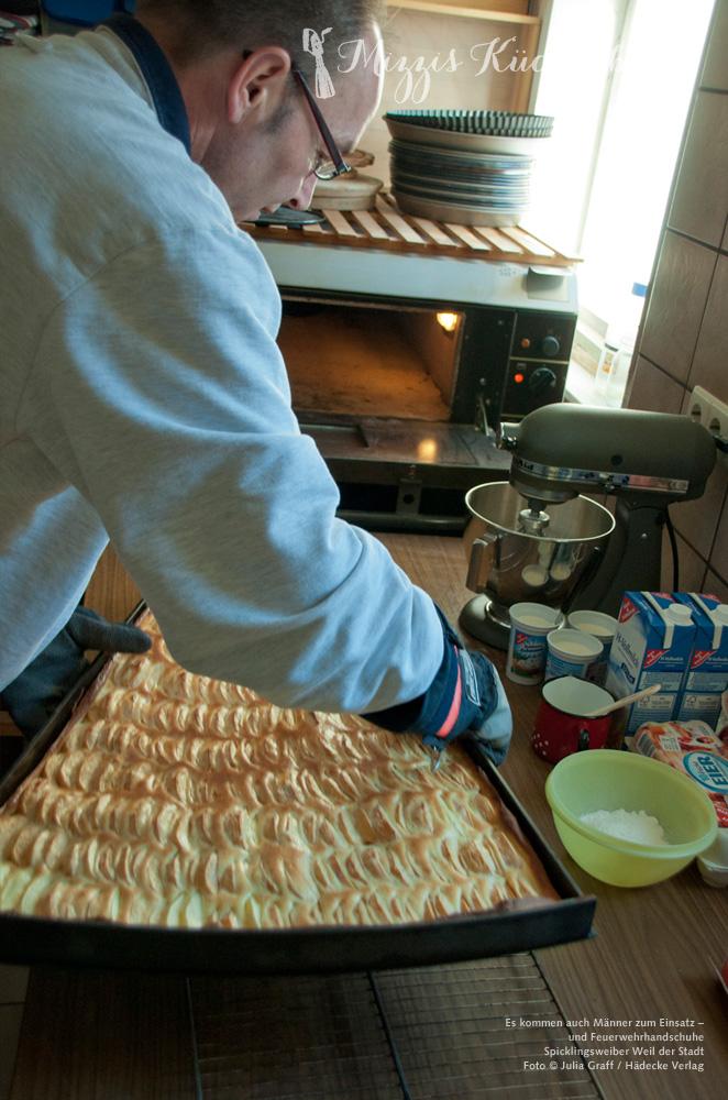 Spickling aus dem Ofen