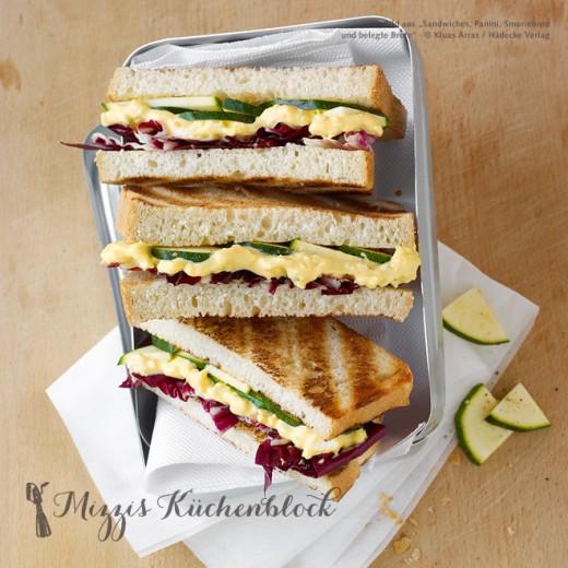Was essen auf der Messe?! Sandwich vegetarisch