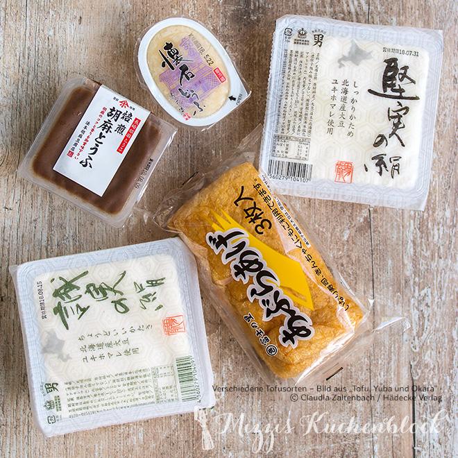 Tofu-Sorten