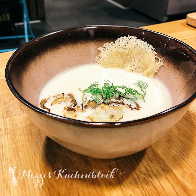 Fenchel-Limetten-Suppe
