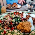 Falafel in der Heimbürokantine von Wibke Ladwig