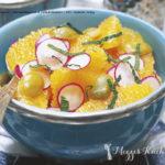 Orangen-Radieschen-Salat