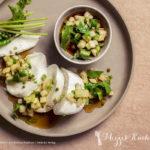 Rezept der Woche :: Mozzarella mit Melonen-Salsa