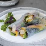 Rezept der Woche :: Summer Rolls mit Tofu