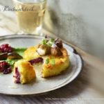 Rezept der Woche :: Gefüllter Röstitaler mit Schalotten und Steinpilzen